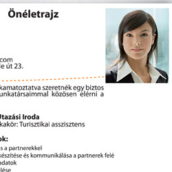 curriculum vitae minta magyarul