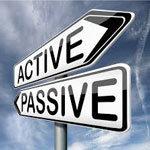 aktív és passzív feliratú útjelző táblák