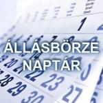 Állásbörze etikett és naptár