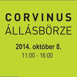 Kihagyhatatlan a Corvinus Őszi Állásbörze a Budapesti Corvinus Egyetemen! – 2014. október 08.