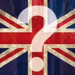 angol zászló előtt kérdőjel