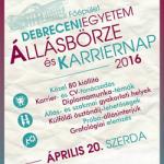 Debreceni Egyetem Állásbörze és Karriernap 2016