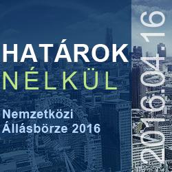 """Nemzetközi  Állásbörze 2016 – """"A munka élménye"""""""