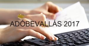 Szja-bevallás 2017: ne felejtsd el a héten feladni adóbevallásodat!