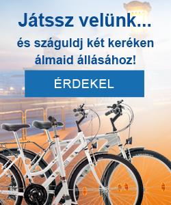 Nyereményjáték: Nyerj önéletrajz feltöltéssel/frissítéssel kerékpárt vagy rollert