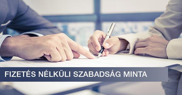önéletrajz nélküli állások Fizetés nélküli szabadság minta [Letölthető .doc fájllal  önéletrajz nélküli állások