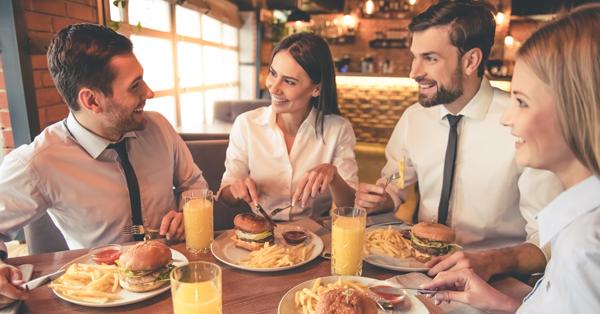 A nap kérdése: Mit fogunk ebédelni? – 4. típus: A rendszeresen munkahelyen kívül ebédelők
